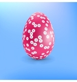 Happy Easter Card template EPS8 vector image