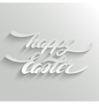 Happy Easter lettering Greeting Card vector image vector image