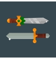 Knifes weapon vector image