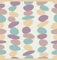 meditation zen stones seamless pattern pebble vector image vector image