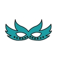 party mask isolated icon vector image vector image