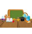 school board cartoon vector image vector image