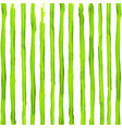 watercolor acid green stripes background vector image vector image
