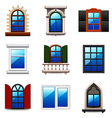 Windows icons set vector image