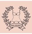 women underwear design vector image vector image