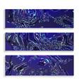 craft liquid texture set ink texture vector image