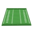 american football field isolated icon vector image