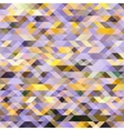 Abstract multicolored background of triangles vector image vector image