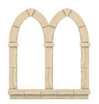 classic antique arch vector image vector image