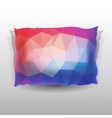 Colorful Soft Pillow vector image