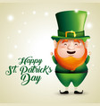 elf to traditional st patrick event vector image