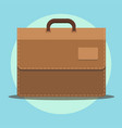 flat icon briefcase business icon vector image vector image