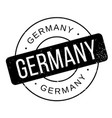 germany rubber stamp vector image