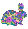rabbit 2 vector image vector image