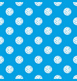 rocky planet pattern seamless blue vector image vector image
