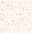 rose flower pattern seamless vector image vector image