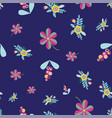 seamless pattern repeat with random vector image vector image