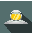 Suit flat icon with shadow vector image