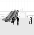 The airport vector image vector image