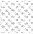 unique kidney seamless pattern with various icons vector image