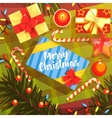 Christmas Presents Colorful With vector image vector image