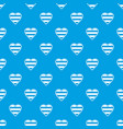 heart lgbt pattern seamless blue vector image vector image