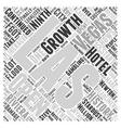 History of Las Vegas Word Cloud Concept vector image vector image