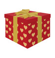 opened gift box surprise conceptgift to the vector image