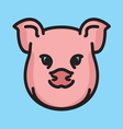 Pig icon vector image vector image
