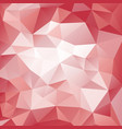 pink and red polygonal pattern vector image vector image