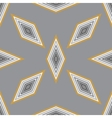 seamless geometric pattern with a few diamonds vector image