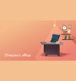 vacancy empty workplace vector image