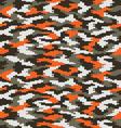 digital fashion camouflage 2 vector image