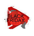 abstract black friday vector image vector image