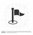 flat pictogram icon vector image