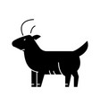 goat icon sign on isolate vector image vector image