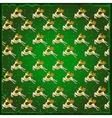 Texture of deer green background vector image vector image