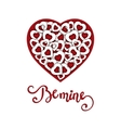 Hand sketched Be Mine text as Valentine s Day vector image