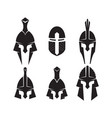 iron helmet of the medieval knight icon vector image vector image