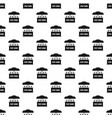 pop corn selling pattern seamless vector image vector image