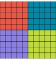 Squares with blurred borders modern seamless vector image vector image