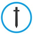 Symbolic Sword Icon vector image vector image