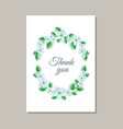 tender gratitude card with vector image vector image