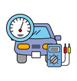 vehicle speedometer and diagnostic automotive