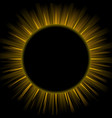 of eclipse vector image