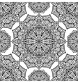 Background with mandalas vector image