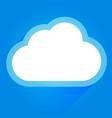 cloud icon concept image vector image vector image