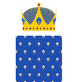 Crown for King and Royal pattern set for Kingdom