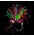 Mardi grass party mask vector | Price: 1 Credit (USD $1)