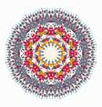 ornament beautiful pattern with mandala vector image vector image